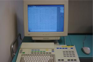 EEG-Arbeitsplatz